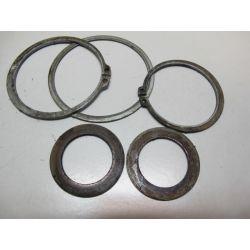 Clips et rondelles arbre de roue ar 450 LTR 06/10