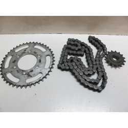 Kit chaine Z750 04/06
