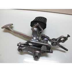 Platine + cale pied et pedale de frein XVZ 1200 Venture