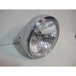 Optique de phare diamètre 200mm Chromé NEUF